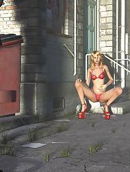 Bared Ladies In 3D