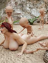 3D Profligate Monsters