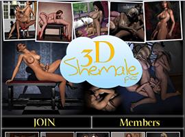 3D Shemale pics